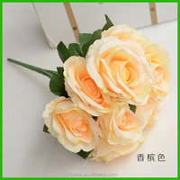 Low price manufacture bulk giant artificial flowers
