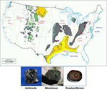 Steam/Thermal, Coking, and Rosebud Coal