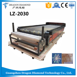 High Laser Power 2030 Wood CNC Router/LZ-2030 Fabric Laser Automatic Cutting Machine