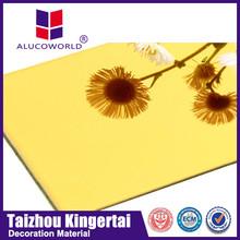 Alucoworld ceiling decoration systems Aluminum Composite Panel fireproof acp walls panels
