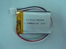 rechargeable lithium polymer battery 1500mah with trade assurance