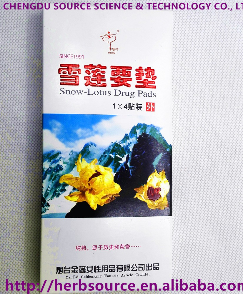 Manufacturer Directly Supply Herbal Snow Lotus Drug Women Pads Buy