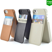 leather wallet case for iphone 5/5s,free sample
