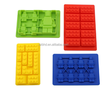 Good looking &funny gift Minifigure Ice Cube Trays and Candy Chocolate Molds