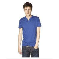 Straight cut short-sleeved T-shirt mens tee shirts