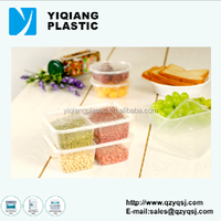 more product pp food sushi packaging boxes divided