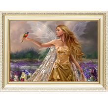 Hot sale spirit design menglei painting by numbers on canvas