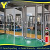 Australian standards thermal insulation panels Frameless Bi-Folding Doors WITH mosquito net curtain