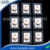 led picture frame lights, advertise hang frameless led light box,led crystal hanging light box