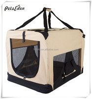 Foldable Comfort Pet Dog Carrier Camping Crate