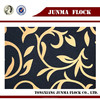 Golden and black ear of rice pattern flock on flock fabric used cars for sale in japan