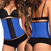 2015 instyles hot cool cross trainer sexy lingerie upper arm shape fajas colombianas latex waist trainer