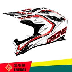 Dirt Bike Full Face ECE Standard Funny Motorcycle Helmets for Sale
