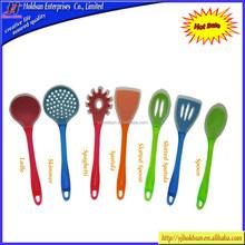 Alibaba Wholesale Colorful Silicone Kitchen Utensil Set