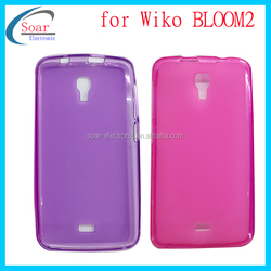 Smooth tpu cover case for WiKO BLOOM2