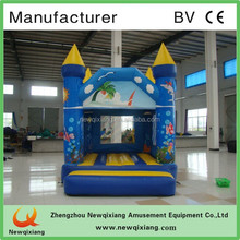 CE inflatable frozen bouncy castle/Cartoon jumping castle/inflatable cartoon characters castle