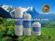 Refrigerant Gas R134a (Purity more than 99.9% )