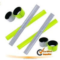 hotsale slap band wristband reflector , slap wrist wraps