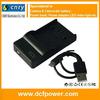 4.2V 600MA battery USB charger for Pentax D-Li63 Compatible EN-EL10 for nikon Battery USB Charger Promotion