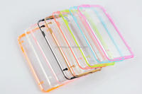 Clear TPU PC Combo Case For Apple iPhone 6