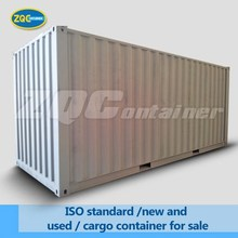 ISO standard /new and used / cargo container for sale