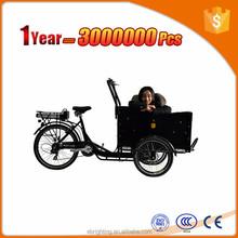 Elétrico de 3 rodas de carga da bicicleta bicicleta de carga fabricante e fornecedor