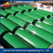 conveyor trough design factory steel impact roller