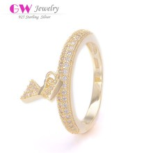 Best Quality Fashion 925 sterling silver bow ring Wholesale