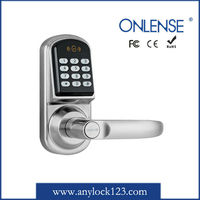 Zinc alloy electric door cylinder lock with backlight keypad