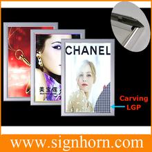 Advertising Light Boxes Aluminium Frame Super/Ultra Slim LED Light Box