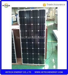 high standard Monocrystalline 150W pv solar panel price