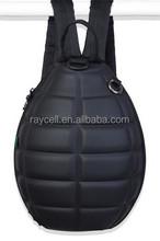Leather school backpack bags / cartoon cute kids school bags