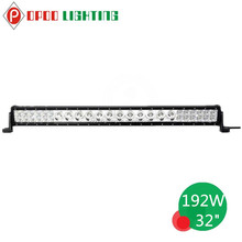2015 Factory direct offroad 32inch led light bar, 192w hybrid 32inch led light bar