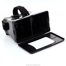 3D virtual reality headset plastic 3d glasses VR Google cardboard for various mobile phone