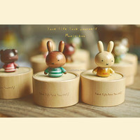 rabbit music box