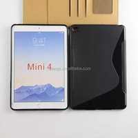 Hot! New! s Line TPU soft cover skin Gel case table cover for ipad mini 4 alibaba china