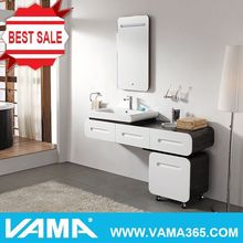 VAMA Wall Mounted Solid Wood Bathroom Vanity Storage