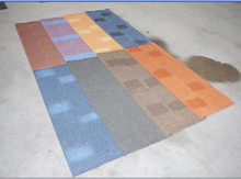 shingle colorful stone coated metal roofing materials
