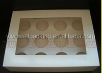 24pc cupcake box Cheap products wholesale cupcake box 6cm from alibaba store