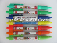 promotion roll out banner pen 1000pcs customized logo with free shipping