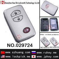 free shipping 3 button smart remote key cover/case for Toy car/029724