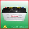 KOYAMA dry charge battery DIN105 truck battery 105ah 12V
