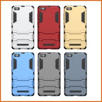 Factory combo tpu pc flip leather case for xiaomi mi4i