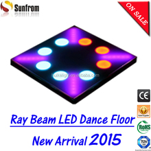 Hotel passangeway use amazing led floor mat