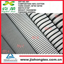 White black stripes fabric wholesales