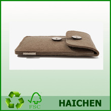 Diy Design High Quality felt mobile phone pouch