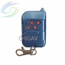 315Mhz four button blue car alarm remote control