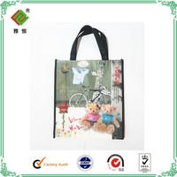 Factory outlet cost-effective colour printing non woven shopping bag