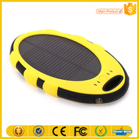 New innovation material mobile solar charger for iphone power bank