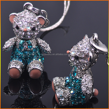 Direct selling Bear Shape Crystal Pendant for Friend